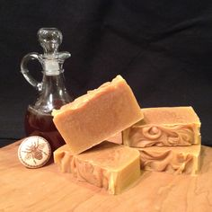 Bee Clean Honey Soap.  Simply natural & clean.  This soap has no added scents, you only get the naturally sweet smell of honey & beeswax.  Simply wonderful! #bathandbody #pureandnatural