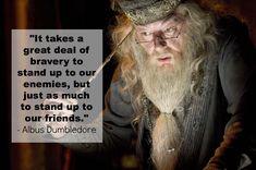 Richard Harris and Michael Gambon on) as Albus Dumbledore (Harry Potter film series) Albus Dumbledore, Citation Dumbledore, Severus Snape, Objet Harry Potter, Harry Potter Films, Harry Potter Quotes, Harry Potter World, Jude Law, Baguettes Harry Potter