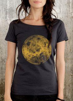 Venus Women's TShirt  Women's Organic Cotton by CrawlspaceStudios, $26.50