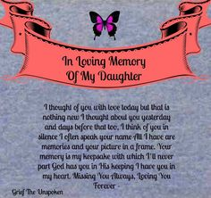 ` I Think Of You, New Me, In Loving Memory, Jesus Quotes, Grief, To My Daughter, Thinking Of You, Names, Memories