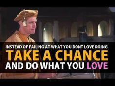 Jim Carrey Inspiring Speech - Discover Life Purpose - Do What You Love