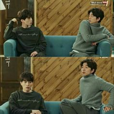 Gong Yoo always has the best expressions xD