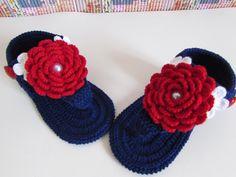 Knitting For Kids, Crochet For Kids, Baby Knitting, Crochet Baby Clothes, Crochet Baby Shoes, Baby Sandals, Baby Booties, Baby Shoes Pattern, Booties Crochet