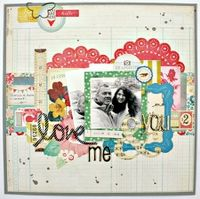 A Project by moniquel from our Scrapbooking Gallery originally submitted 01/11/14 at 04:21 PM