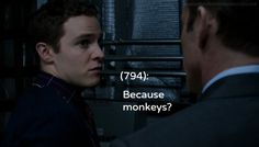 Because monkeys? Leo Fitz #humor