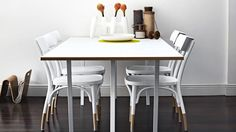 We help you select the right white or neutral paint palette. Dining Area, Dining Table, Dining Rooms, Interior Stylist, Interior Design, Clever Design, White Paints, Beautiful Interiors, Small Spaces