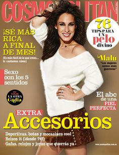 Revista #COSMOPOLITAN, octubre 2014. Portada: #Malú. Extra accesorios. Sexo con los 5 sentidos. El abc de una piel perfecta.