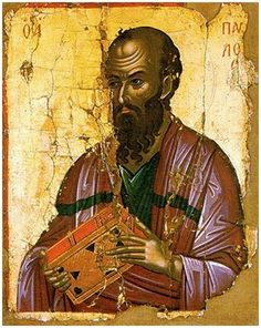 Paul the Apostle, once named Saul called by the Lord. Religious Images, Religious Icons, Religious Art, Byzantine Icons, Byzantine Art, Paul The Apostle, Web Gallery Of Art, Russian Icons, Creta