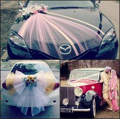 36 best wedding car decoration images on pinterest wedding car the wedding car is a memorable ride with its dangling cans and just married sign are 25 wedding car decoration tips for your perfect romantic getaway junglespirit Gallery