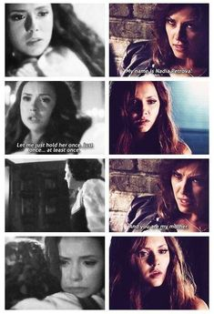 I'm Nadia Petrova and You are my MOTHER