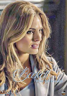 0 - - What Lies Beneath Beckett Castle Tv Series, Richard Castle, What Lies Beneath, Kate Beckett, Stana Katic, Dreadlocks, Fan Art, Hair Styles, Beauty