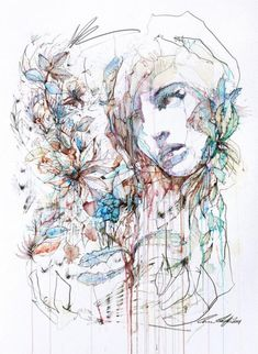 Illustrations by Carne Griffiths | Cuded