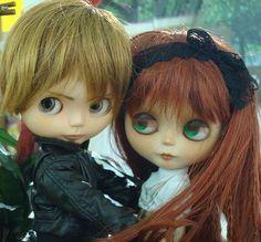 blythe boy doll | David e Fergie!! | Blythe the real life IV | Pinterest