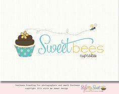 Sweet Bees Cupcakes Logo