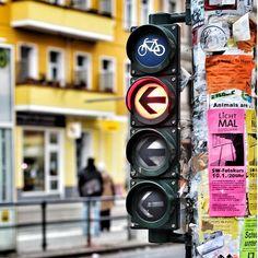 Berlin, bike, lights