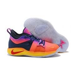 6fb3f3f537a1 Nk Paul George PG 2 Summer Multi-Color Men s Basketball Shoes Paul George  Shoes