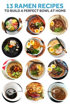 Preparing a tonkotsu broth takes at least a day—add to that finding the right noodles and preparing the toppings and you've got a serious project on your hands. But it's worth the effort for a bowl of rich, creamy, hearty ramen. If you're ready to give it a try, we've rounded up our favorite recipes for classic (and not-so-classic) broths and flavorful toppings like marinated eggs and braised pork.