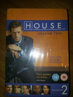 House MD Season Two 2 *NEW SEALED* 6 DISC DVD Box Set - UK PAL R2/R4 Hugh Laurie