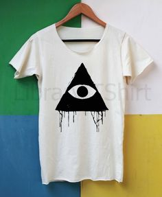 Eye of Providence Shirt All Seeing Eye of God by LibraryOfShirt, $14.99