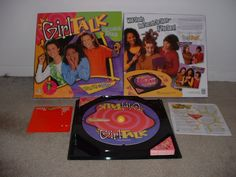 Girl Talk (90's board game).  Fun way to have some girly fun with friends back in the day.