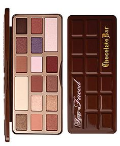 Too Faced Chocolate Bar Palette. Eye shadows that smell like chocolate! Want!