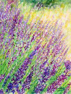 Loren Hodes - Wonders of Creation - Lavender