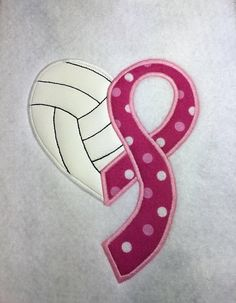 Voleibol conciencia cinta 4 tamaños incluyen por Nanashandmadebaby