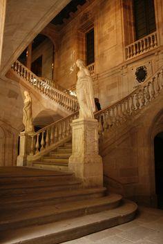 Escalinata de la Llotja de Barcelona