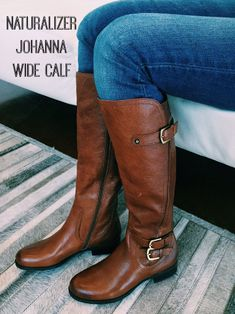 Naturalizer Johanna Wide Calf Boot gonna be looking for these oh yeah Wide Calf Boots, Thigh High Boots, Tall Boots, Ugg Shoes, Shoe Boots, Shoe Bag, Cowgirl Boots, Riding Boots, Cheap Snow Boots