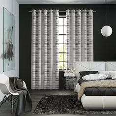 These Davinci Black Ink curtains are full of body and charm, with a closely woven fabric decorated with an embossed paisley design. Custom Made Curtains, Made To Measure Curtains, Floral Curtains, Grey Curtains, Hanging Curtain Rods, Paisley Design, Warm Colors, Blinds, Lounge