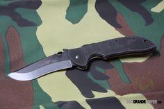 Emerson SCOMMBT Super Commander, Black Handle, Black Blade, PlainEdge. http://www.osograndeknives.com/store/catalog/tactical-folding-knives/emerson-scommbt-super-commander-black-handle-black-blade-plainedge-1917.html