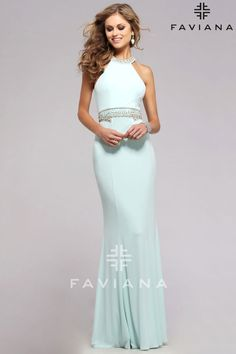 Faviana 7783 dress for your next formal event at The Castle. We are an authorized retailer for all Faviana dresses and every 7783 is brand new with all original tags! Open Back Prom Dresses, Prom Dresses 2016, Designer Prom Dresses, Prom Dresses Online, Nice Dresses, Evening Dresses, Prom 2016, Prom Gowns, Faviana Dresses