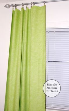#Walmart Moms, Jennae Peterson, shows us how to create easy and inexpensive curtain panels.