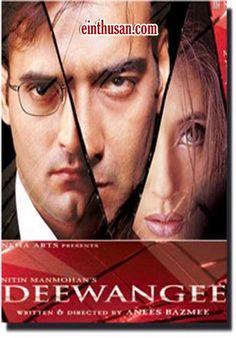 Deewangee Hindi Movie Online - Ajay Devgan, Akshaye Khanna and Urmila Matondkar. Directed by Anees Bazmee. Music by Ismail Darbar. 2002 Deewangee Hindi Movie Online.