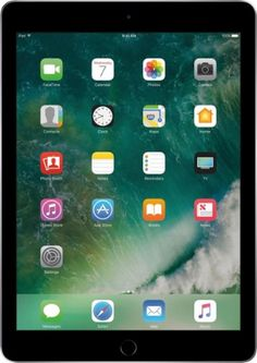 Apple - iPad (Latest Model) with WiFi - 32GB - Space Gray - Front Zoom