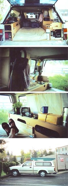 Doing something like this, this summer to my truck. Can't wait. Truck camping.