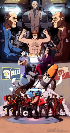 Team Fortress 2 by K1S3K.deviantart.com on @DeviantArt