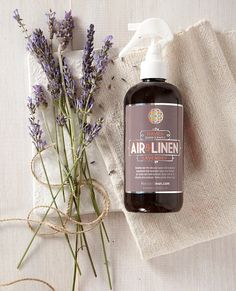 Air & Linen Spray by HomeintoHaven on etsy.com looks great - no nasty chemicals and great products!