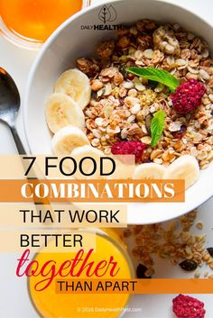 Some food combinations just seem to go great together naturally _ like orange juice and oatmeal with fruit in the morning, or olive oil drizzled over tomatoes. But if we take a closer look at these food combinations, many nutritionists believe, we may find something more.