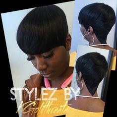 Short 27piece Hairstyles  Hair Romance Studio of Stylez 2619 Jefferson St. Nashville,Tn. 37208