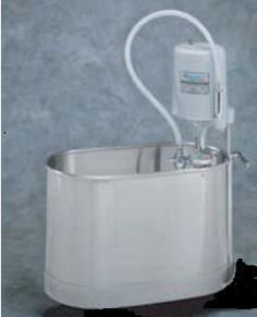 Whitehall Stainless Steel Extremity Stationary Whirlpool #rehabilitation #physicaltherapy #muscletherapy