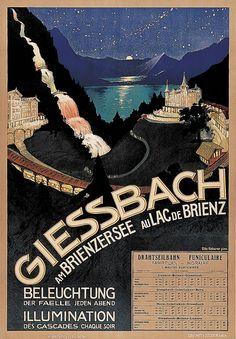Switzerland Giessbach Brienz Otto haberer