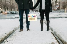Rainbow Baby Pregnancy Announcement Sign | Baby Reveal Maternity Shoot | Hanging Banner Handmade in USA Pregnant Pictures Photographer Prop by TheRitzyRose on Etsy https://www.etsy.com/listing/476942877/rainbow-baby-pregnancy-announcement-sign