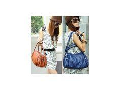 กระเป๋าสะพายแฟชั่นเกาหลีแบบใหม่ ทรงสวยถือหรือสะพายได้หลายแบบ