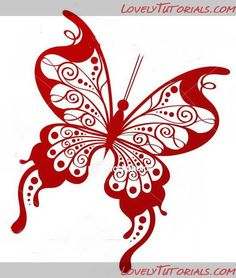 Lots and lots of butterfly templates. Maybe to use for royal icing butterflies?