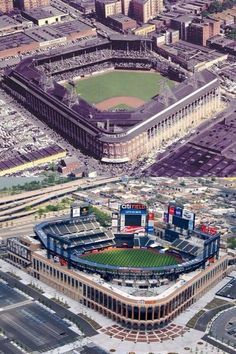 Ebbets and Citi Baseball Park, Dodgers Baseball, Baseball Stuff, Sports Baseball, Shea Stadium, Yankee Stadium, Sports Stadium, Stadium Tour, Ny Mets