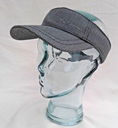 d27fea5091a BEN SHERMAN golf-visor-cap -ONE SIZE- gray black Herringbone New  fashion   clothing  shoes  accessories  unisexclothingshoesaccs  unisexaccessories  (ebay ...