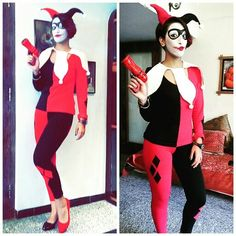 Me dressed as Harley Quinn for Cosplay at ComicCon JokerLoveBruh