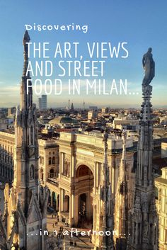 Discover Milan in one afternoon