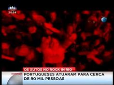 Xutos & Pontapés (Bastidores Rock In Rio 2014) - YouTube